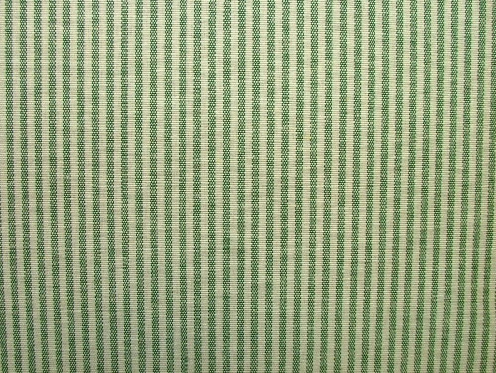 Prestigious Textiles Christmas D Green Ticking Curtain