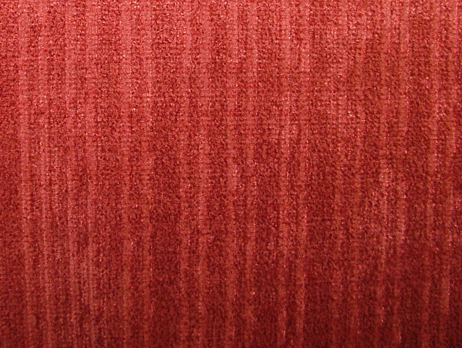 Raspberry Soft Pile Designer Velvet Curtain Upholstery Fabric