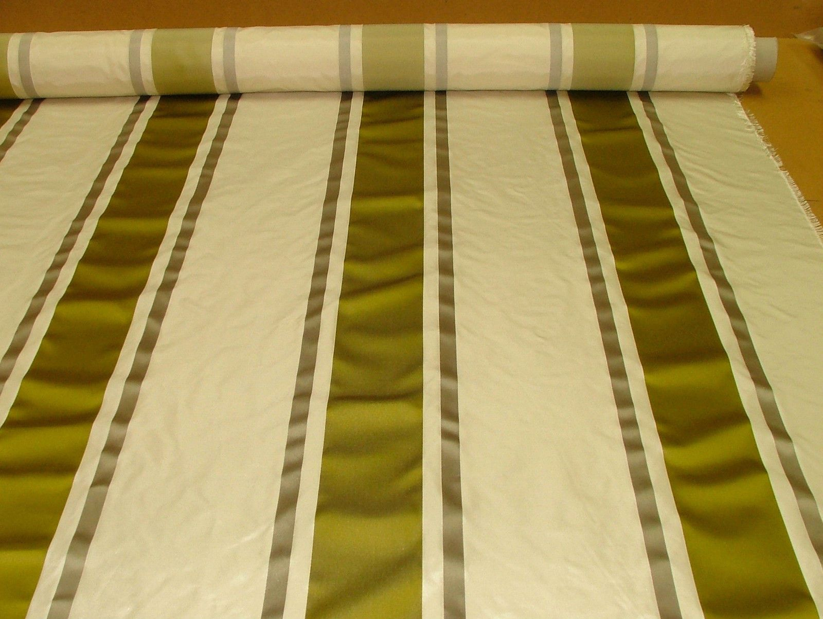 Tatiana Stripe Mimosa 100 Silk Fabric