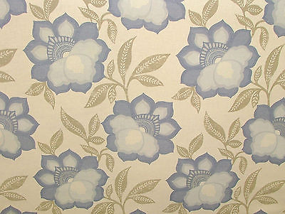 Ashley Wilde KAI- MURANI COBALT FLORAL Curtain/Upholstery/Soft Furnishing Fabric