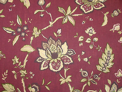 Ashley Wilde WILTON DAMSON FLORAL Curtain /Upholstery /Soft Furnishing Fabric