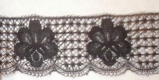 Exclusive English Nottingham Cotton Cluny Lace Vintage style FC270-3 Colours